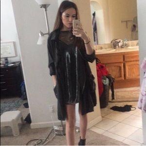 Shimmery Mini Dress